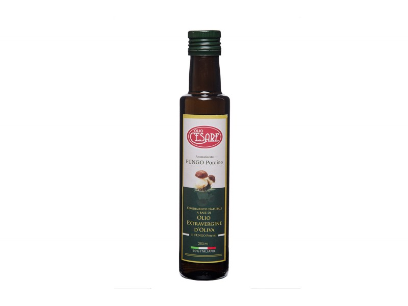 Condimento a base di Olio di Oliva Extravergine aromatizzato al Fungo Porcino